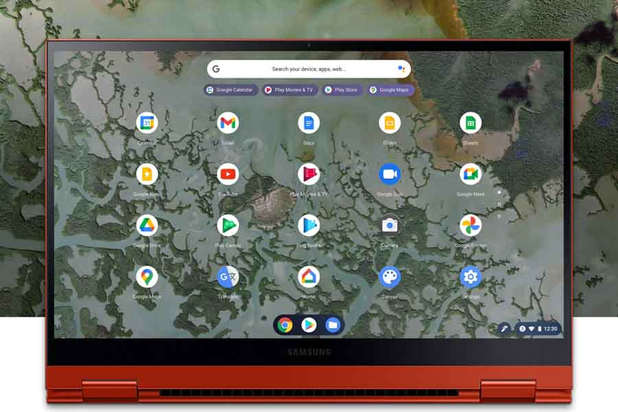 Samsung Galaxy Chromebook 2 - Display