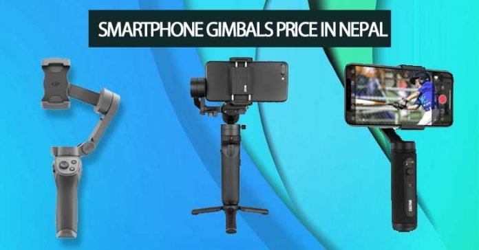 Smartphone Gimbals Price in Nepal Specifications Availability Features DJI Osmo Mobile Zhiyun