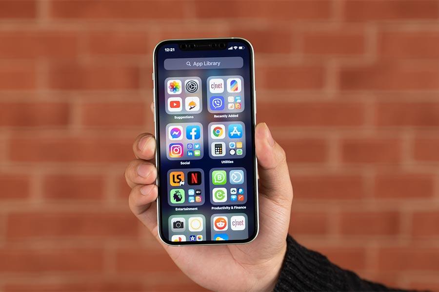 iOS 14 - App Library