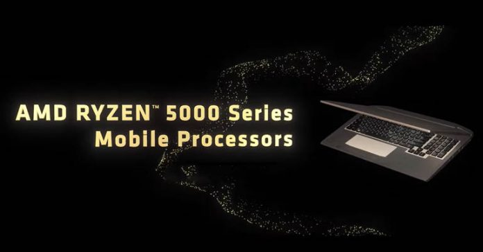 AMD Ryzen 5000 Mobile Processors specifications availability features