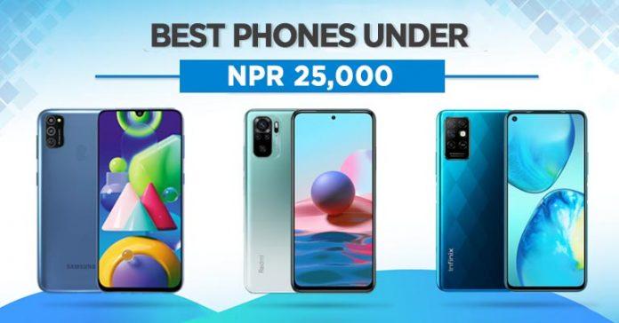 Best Phones Under NPR 25000 in Nepal 2021