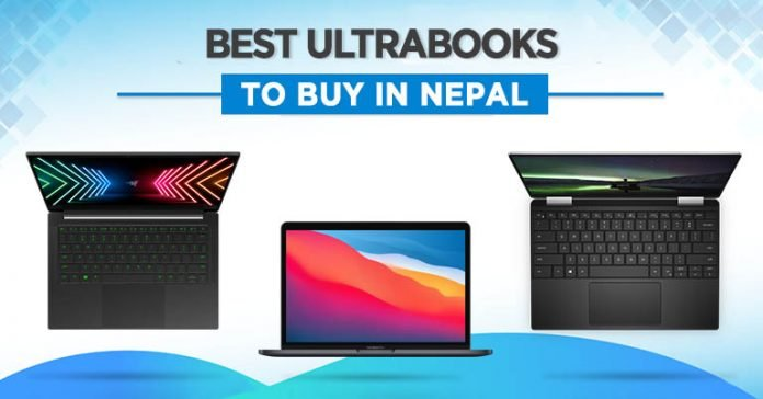 Best Ultrabooks To Buy in Nepal 2021 Thin and Light Laptop Dell XPS MSI Razer Apple M1 MacBook HP Spectre Lenovo Carbon