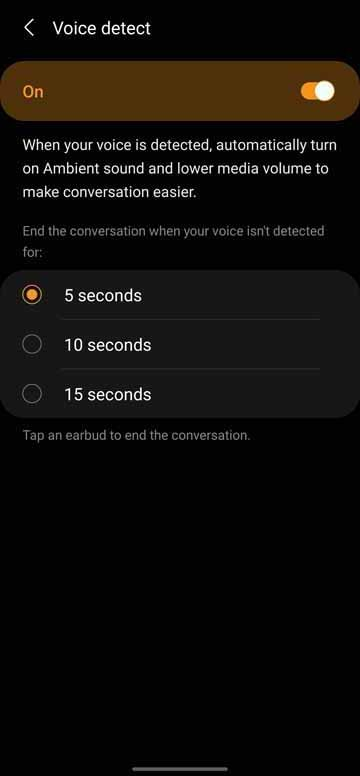 Buds Pro - Voice Detect