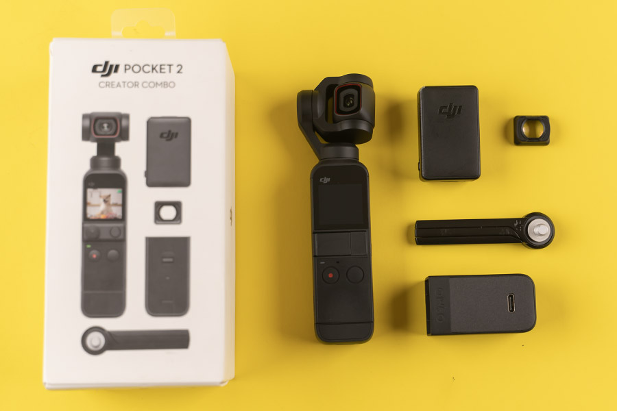 DJI Pocket 2 - Creator Combo