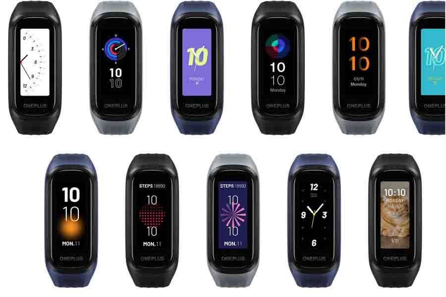 OnePlus Band Watch Faces