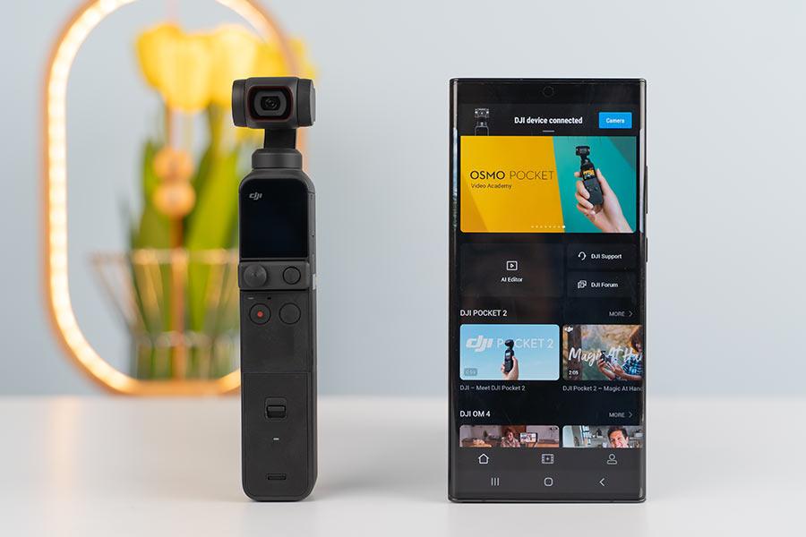 Pocket 2 - DJI Mimo app