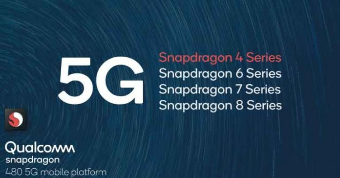 Qualcomm Snapdragon 480 5G SoC announced vs 480 Specifications Features Improvements 5G