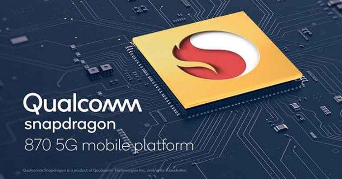Qualcomm Snapdragon 870 5G Chipset Features Specifications Comparisons