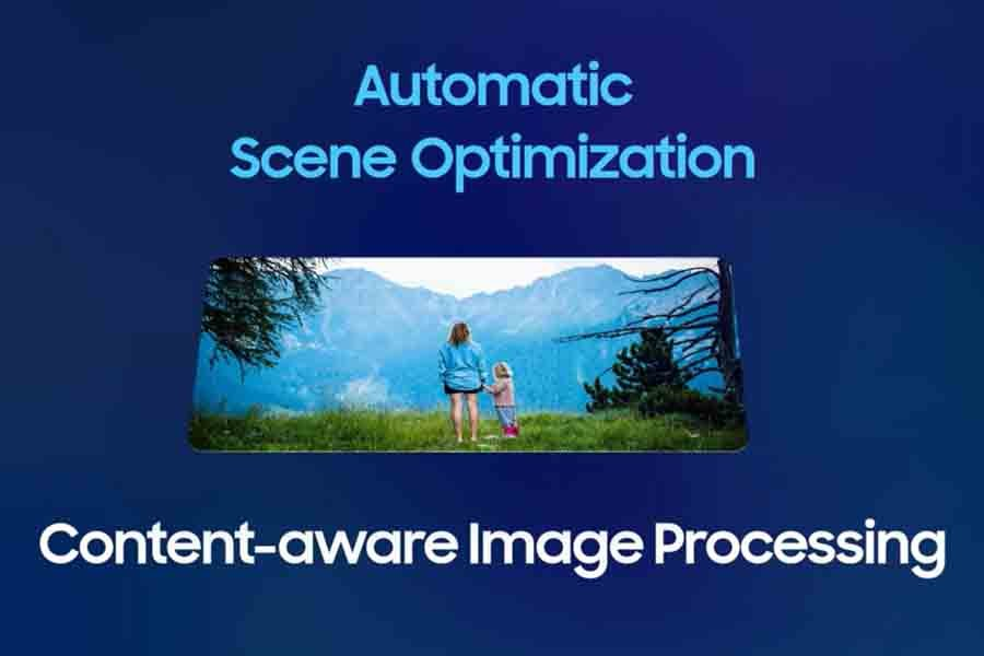 Samsung Exynos 2100 Content awareness image processing