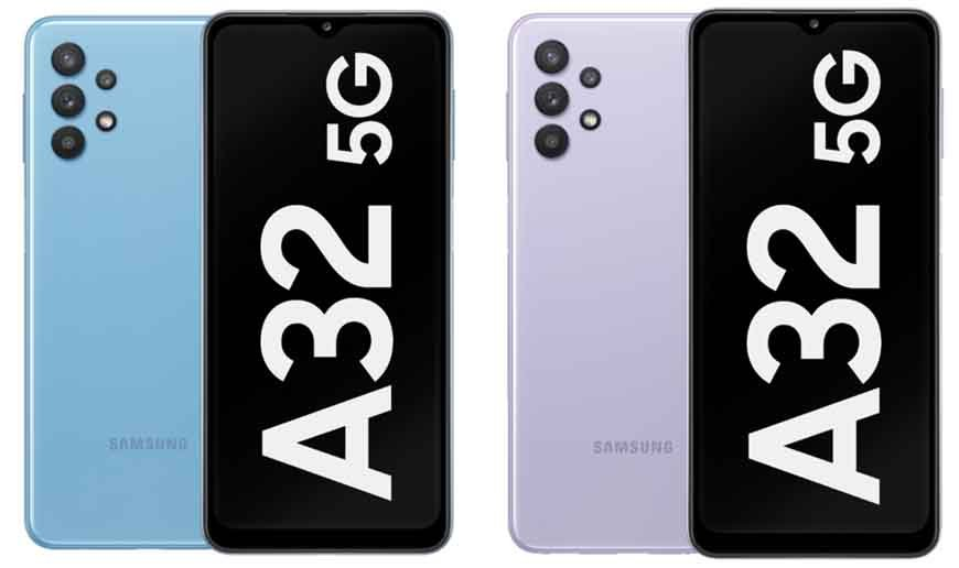 Samsung Galaxy A32 5G Design