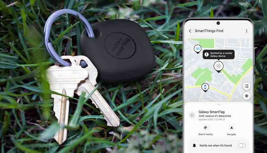 Samsung Galaxy SmartTag with SmartThing Find