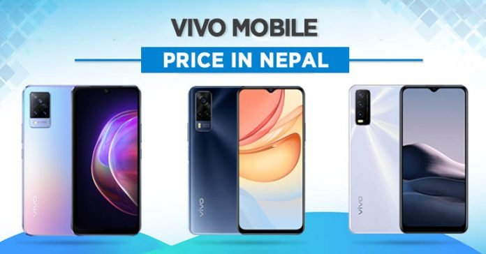 Vivo Mobile Price in Nepal 2021 where to buy phones availability