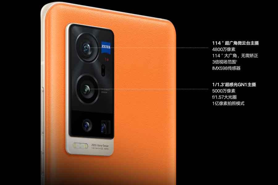 Vivo X60 Pro+ Camera setup