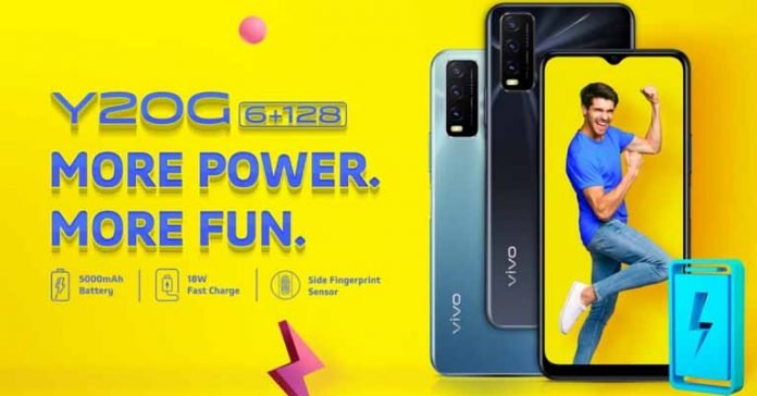 Vivo Y20G launched Price in Nepal Specifications Availability