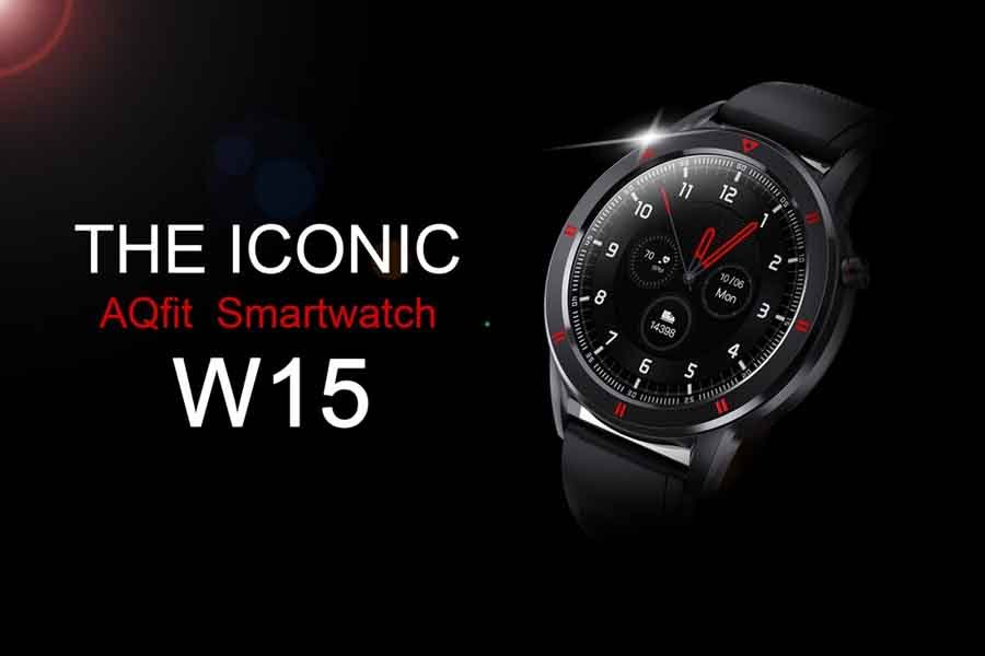 AQFit W15 Smart Watch