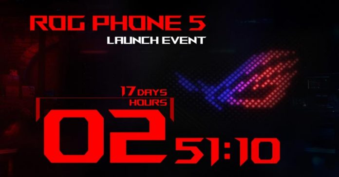 Asus ROG Phone 5 launch date announced rumors leaks specifications availability