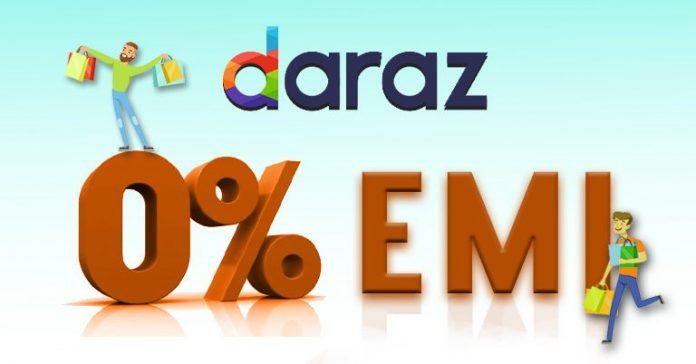 Daraz 0% EMI