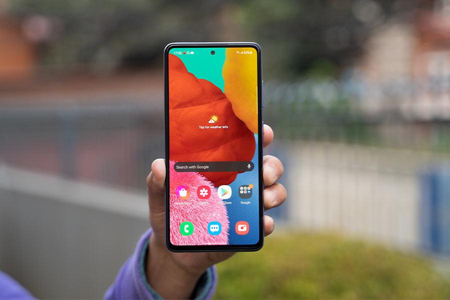 Galaxy A52 - Display