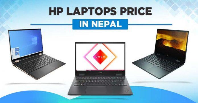 HP Laptops Price in Nepal 2021 Envy Notebook Pavilion Power Spectre Omen