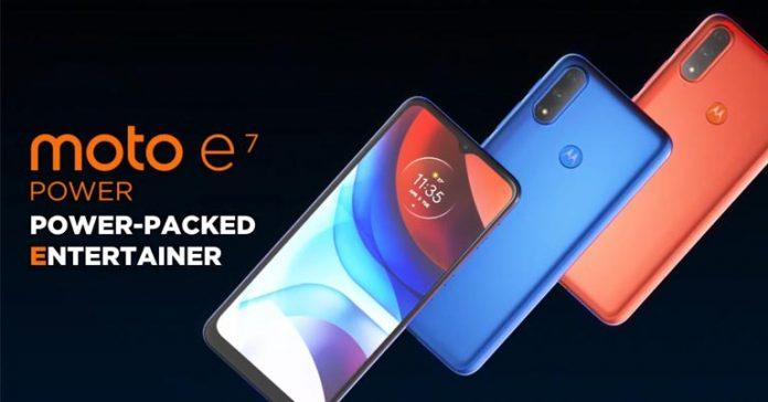 Motorola Moto E7 Power Launched