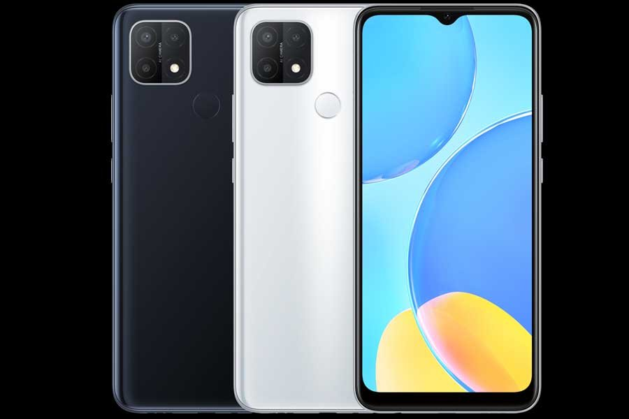 Oppo A15s Color Options