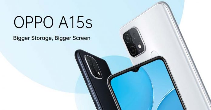 Oppo A15s Price in Nepal features availability specifications