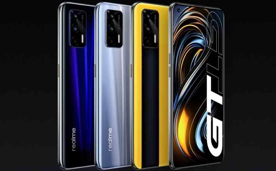 Realme GT color options design display