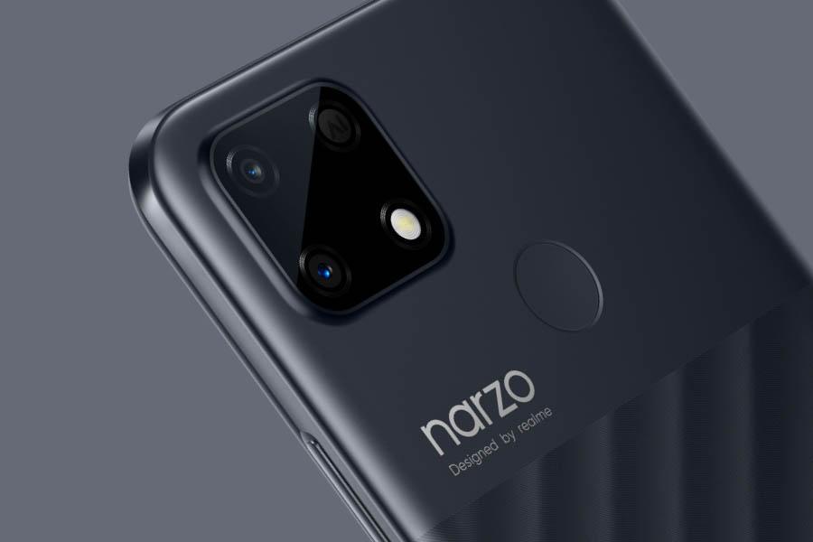 Realme Narzo 30A Camera setup