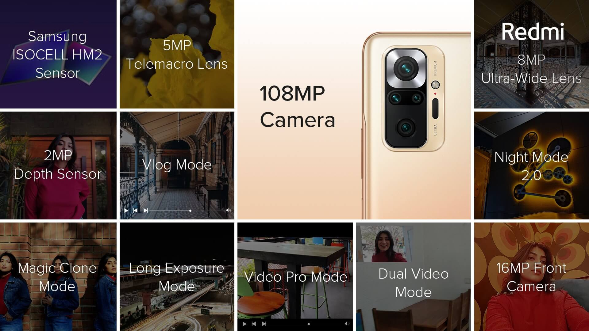 Redmi Note 10 Pro Max 108MP camera