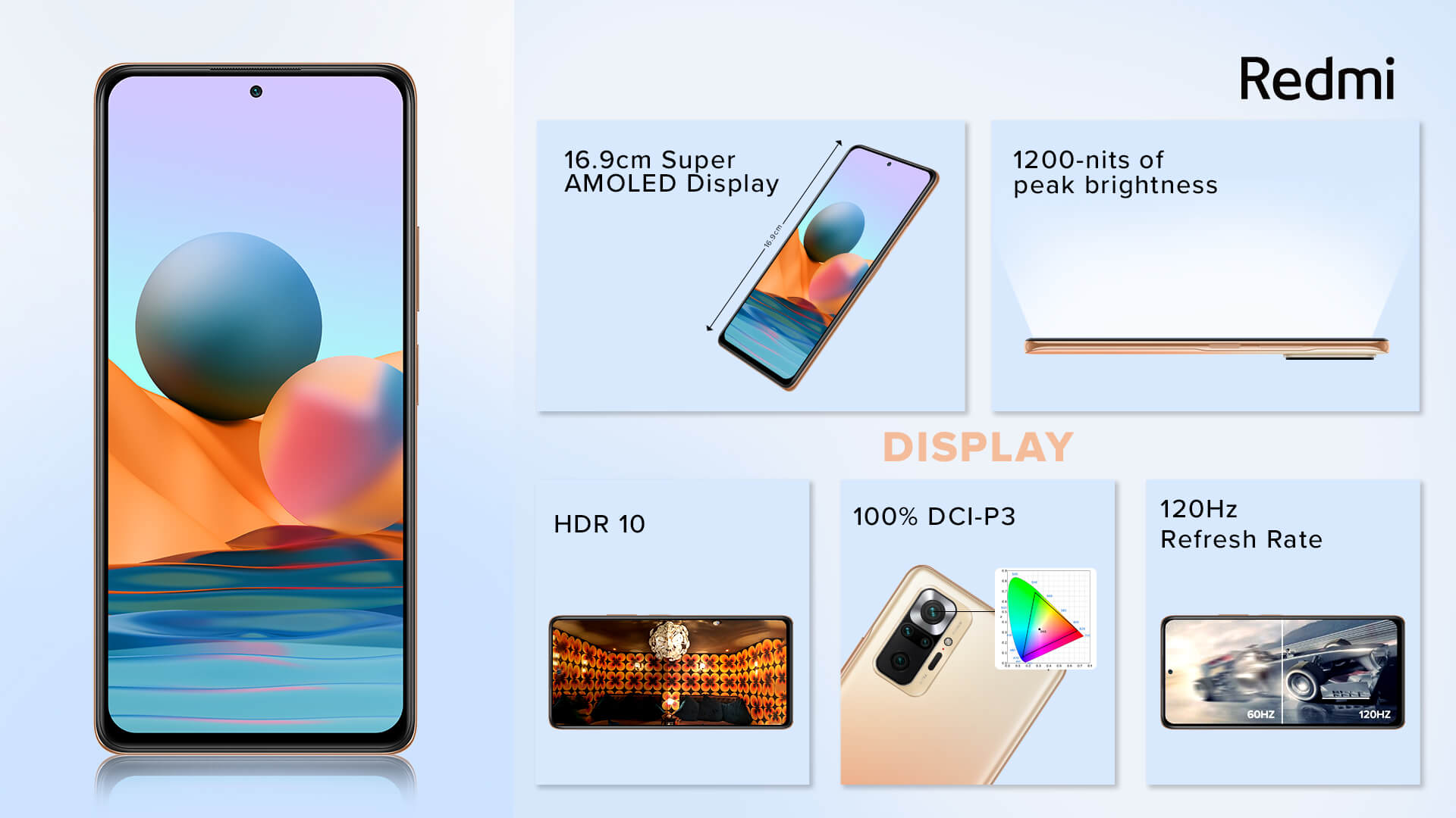 Redmi Note 10 Pro Max display specs