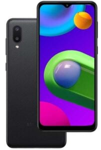 Samsung Galaxy M02 Design