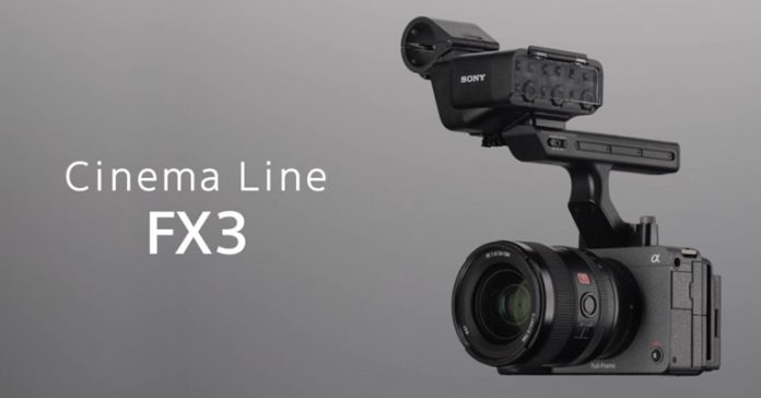Sony FX3 camera announced Price in Nepal Specifications Features Availability