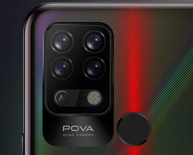 Tecno POVA Camera Bump