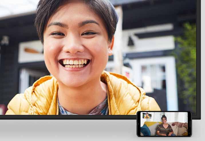 Video Call using Portal TV