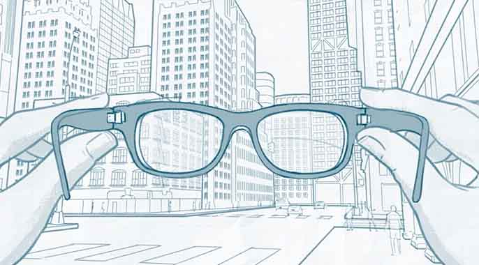 Facebook vision for AI glasses