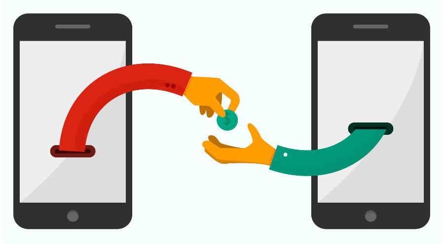 Mobile money illustration
