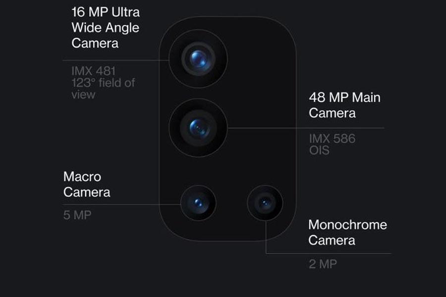OnePlus 9R Camera setup
