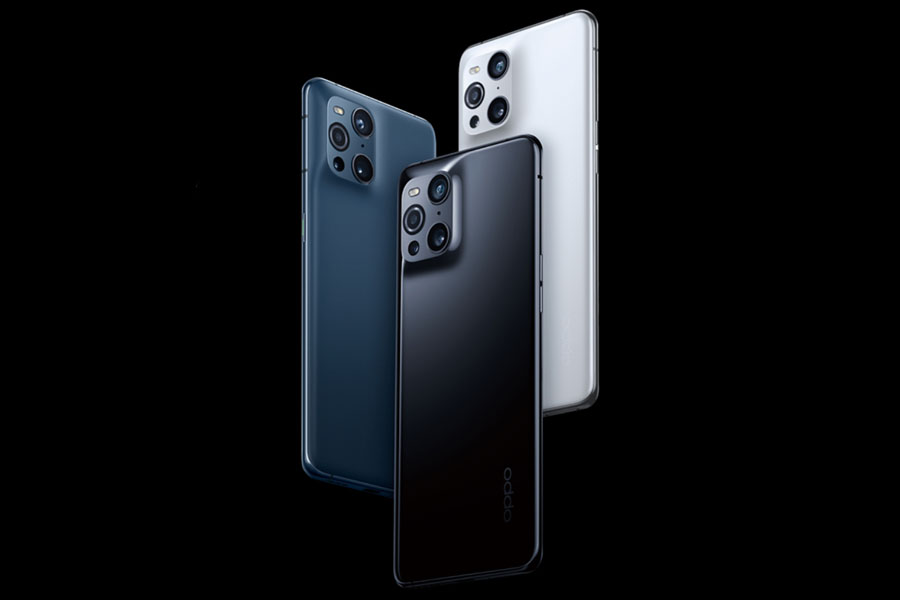 Oppo Find X3 Color Options