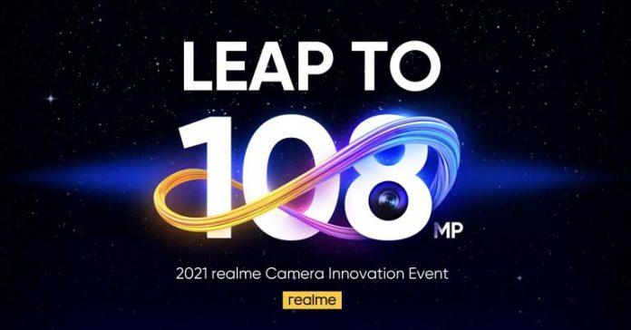 Realme 108MP camera event poster innovation Realme 8 Pro series