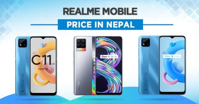 Realme Mobile Price in Nepal 2021 Phones Where to buy availability