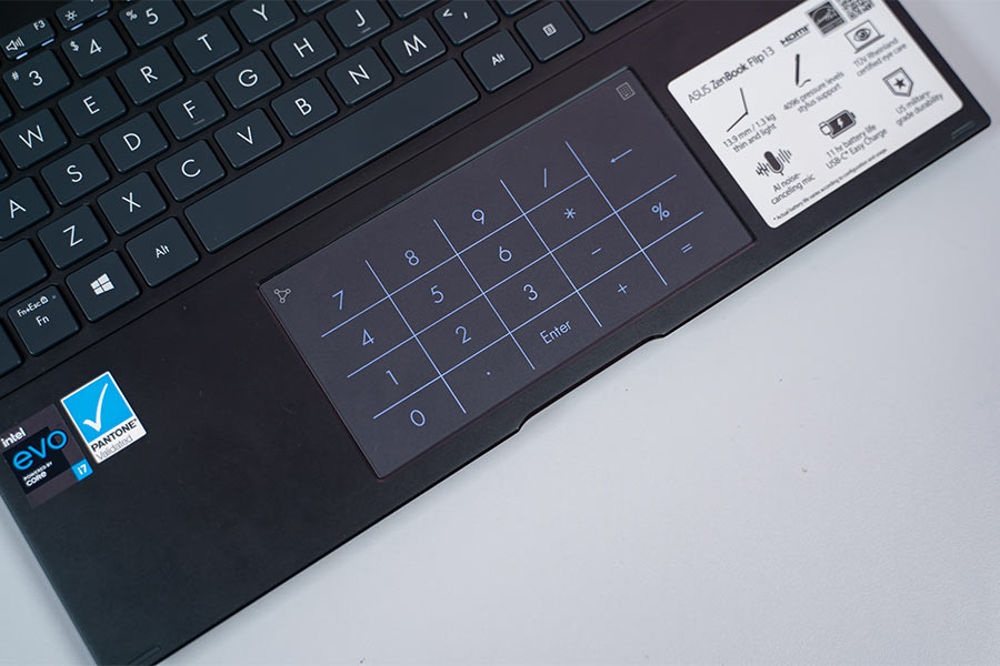 ZenBook Flip 13 - Trackpad