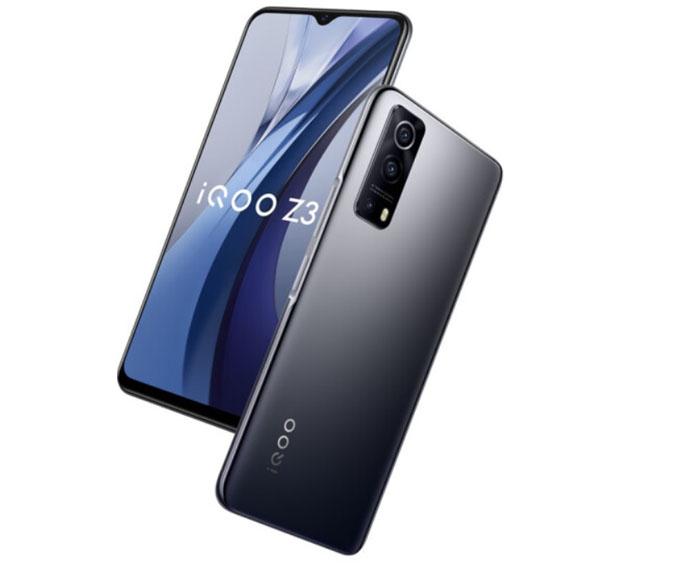iQOO Z3 5G Design and Display