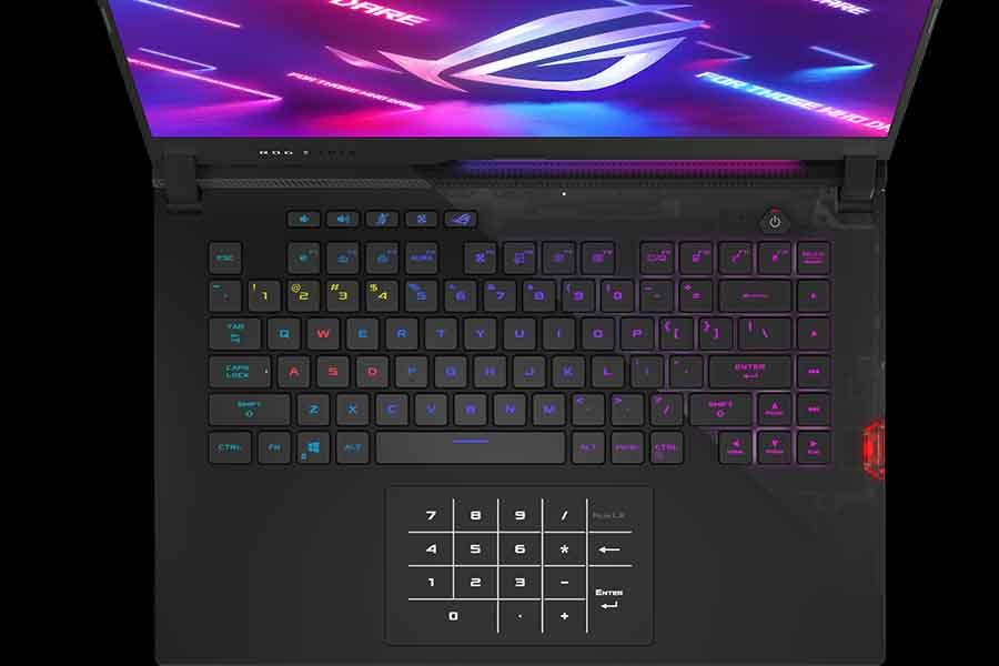 ASUS ROG Strix SCAR 15 2021 Optical Mesh Keyboard