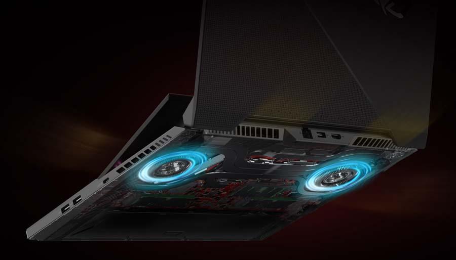 ASUS ROG Zephyrus 15 SE 2021 Cooling System