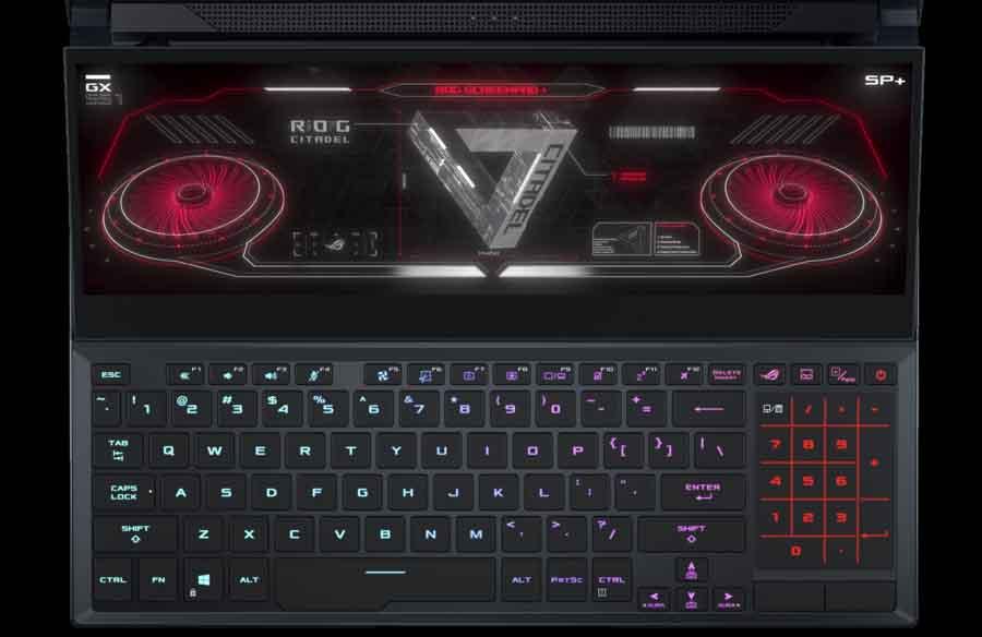 ASUS ROG Zephyrus 15 SE 2021 Keyboard