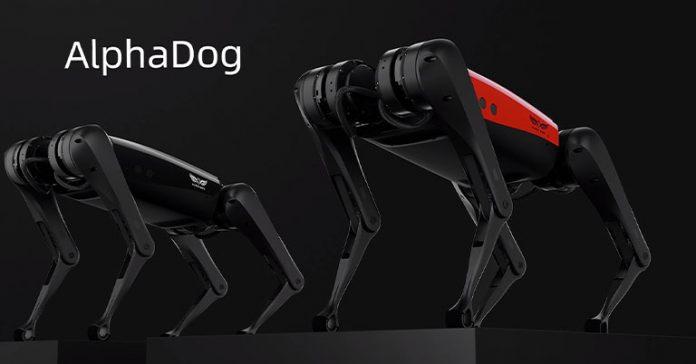 Weilan AlphaDog unveiled robot pet Boston Dynamics Spot alternative affordable