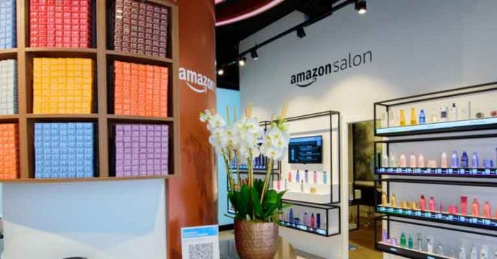 Amazon opens salon in London Augmented Reality Point and learn technology
