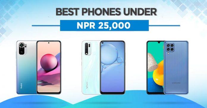 Best Phones Under 25000 in Nepal 2021 Xiaomi Samsung Redmi Oppo Infinix 2021