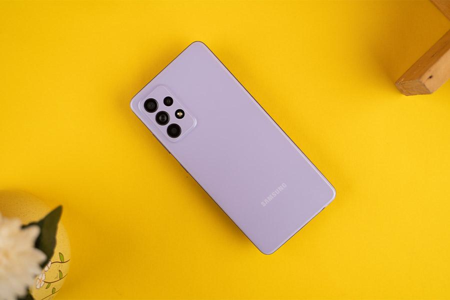 Galaxy A52 - Design
