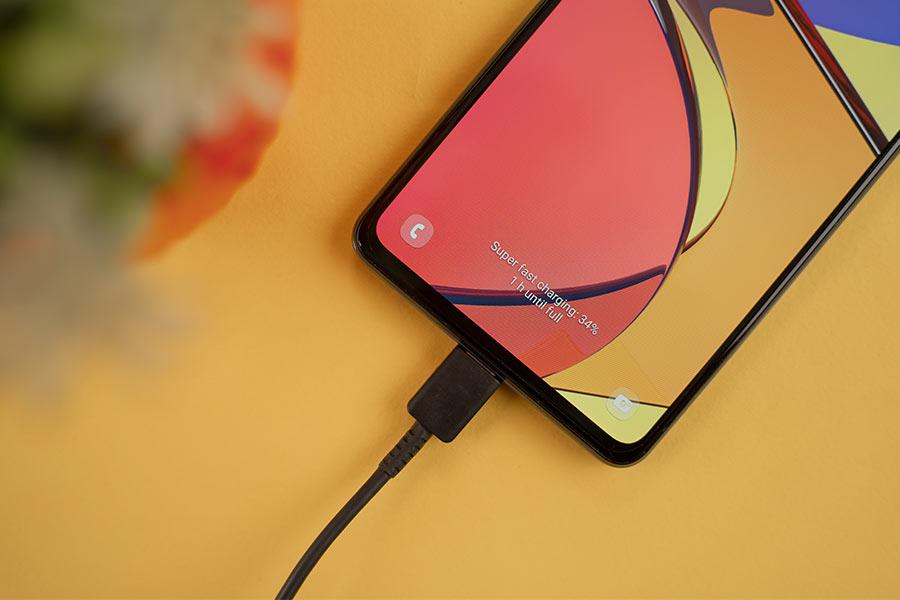 Galaxy A72 - Charging